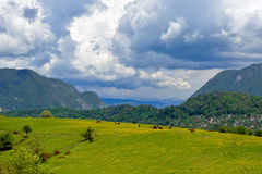 Paisagem da montanha Fotografia de Stock Royalty Free