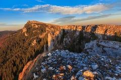 Paisagem da montanha Imagem de Stock Royalty Free