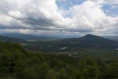 A paisagem da montanha Fotografia de Stock Royalty Free