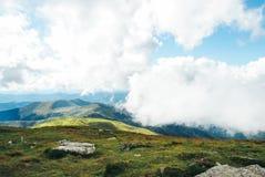 Paisagem da montanha Foto de Stock
