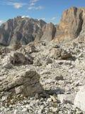 Paisagem da montanha alta Fotos de Stock Royalty Free