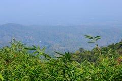 Paisagem da montanha com copyspace Fotografia de Stock