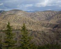 Paisagem da montanha, Crimeia Imagem de Stock