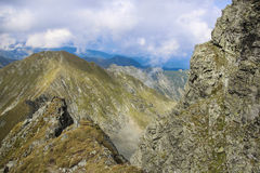 Paisagem da montanha da alta altitude Imagem de Stock