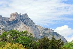 Paisagem da montanha da mola Foto de Stock