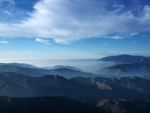 Paisagem da montanha de Califórnia. fotografia de stock royalty free
