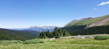Paisagem da montanha de Colorado fotografia de stock