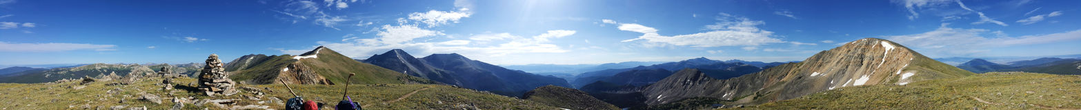 Paisagem da montanha de Colorado fotografia de stock royalty free