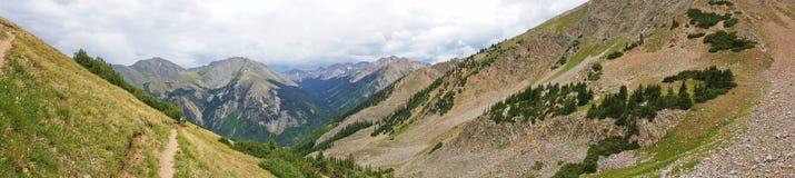 Paisagem da montanha de Colorado fotos de stock