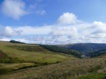 Paisagem da montanha de Galês Fotos de Stock Royalty Free