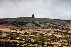 Paisagem da montanha de Krkonose Imagens de Stock Royalty Free