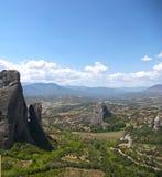 Paisagem da montanha de Meteora Imagem de Stock Royalty Free