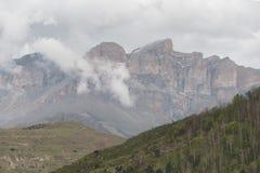 Paisagem da montanha de montanhas caucasianos Foto de Stock Royalty Free