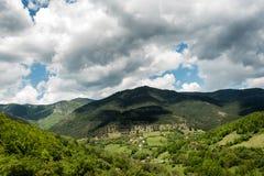 Paisagem da montanha de Zlatibor fotografia de stock
