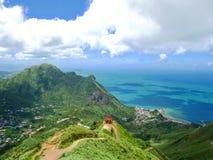 Paisagem da montanha do bule, Taiwan foto de stock