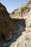Paisagem da montanha do deserto de Judea, Israel Fotografia de Stock