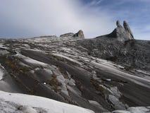 Paisagem da montanha do granito - montagem Kinabalu imagens de stock
