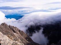 Paisagem da montanha do granito - montagem Kinabalu imagens de stock royalty free
