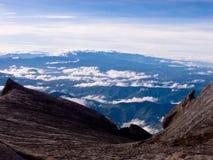 Paisagem da montanha do granito - montagem Kinabalu foto de stock royalty free