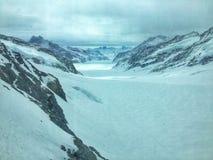 Paisagem da montanha do inverno Foto de Stock Royalty Free