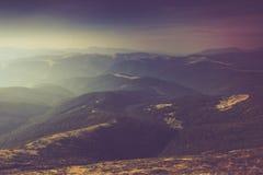 Paisagem da montanha do verão Fotografia de Stock