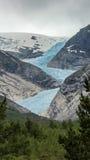 Paisagem da montanha em Noruega fotografia de stock
