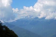 Paisagem da montanha em Sochi Fotografia de Stock Royalty Free