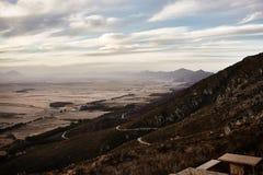 Paisagem da montanha na reserva natural de Cederberg Fotos de Stock