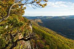 Paisagem da montanha no dia ensolarado de nivelamento fotografia de stock royalty free