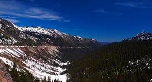 Paisagem da montanha no inverno Foto de Stock