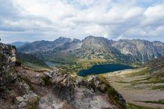 Paisagem da montanha no Tatra alto Imagens de Stock