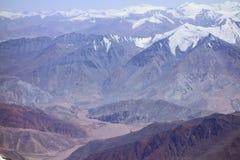Paisagem da montanha. O telhado do mundo Imagem de Stock