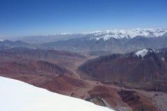 Paisagem da montanha. O telhado do mundo Imagens de Stock