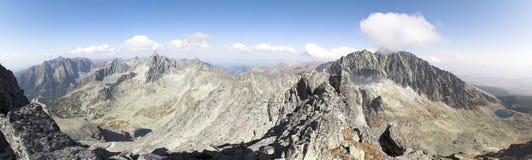 Paisagem da montanha - PANORAMA Imagens de Stock Royalty Free