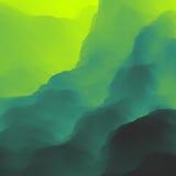 Paisagem da montanha Terreno montanhoso Projeto da montanha Silhuetas do vetor de fundos das montanhas Por do sol ilustração royalty free