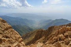 Paisagem da natureza na montanha de Zagros Província de Kermanshah, Irã imagem de stock royalty free