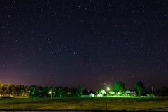 A paisagem da noite Imagem de Stock