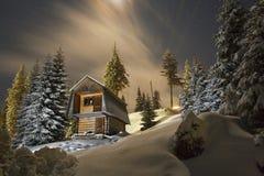 Paisagem da noite Imagens de Stock