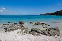 Paisagem da península Nova Zelândia de Karikari Fotos de Stock