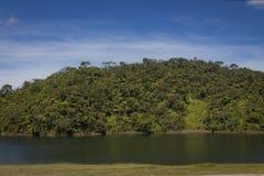 Paisagem da represa de Guatape em Antioquia - Colômbia imagem de stock royalty free