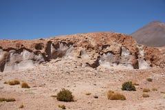 Paisagem da rocha vulcânica Imagem de Stock Royalty Free