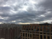 paisagem da tempestade política em Washington Fotos de Stock