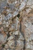 Paisagem da textura da rocha Imagem de Stock