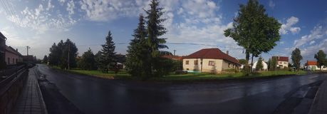 Paisagem da vista Fotos de Stock Royalty Free