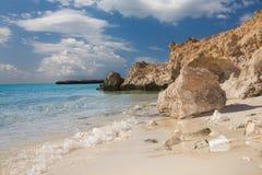 Paisagem das férias de verão no Mar Vermelho imagens de stock royalty free