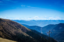 Paisagem das montanhas Foto de Stock