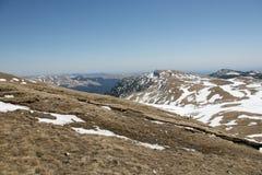 Paisagem das montanhas altas no verão Fotografia de Stock