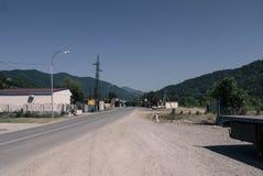Paisagem das montanhas caucasianos Imagens de Stock Royalty Free