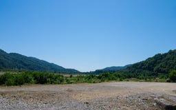 Paisagem das montanhas caucasianos Fotos de Stock Royalty Free