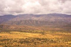 Paisagem das montanhas de Bradshaw Imagens de Stock